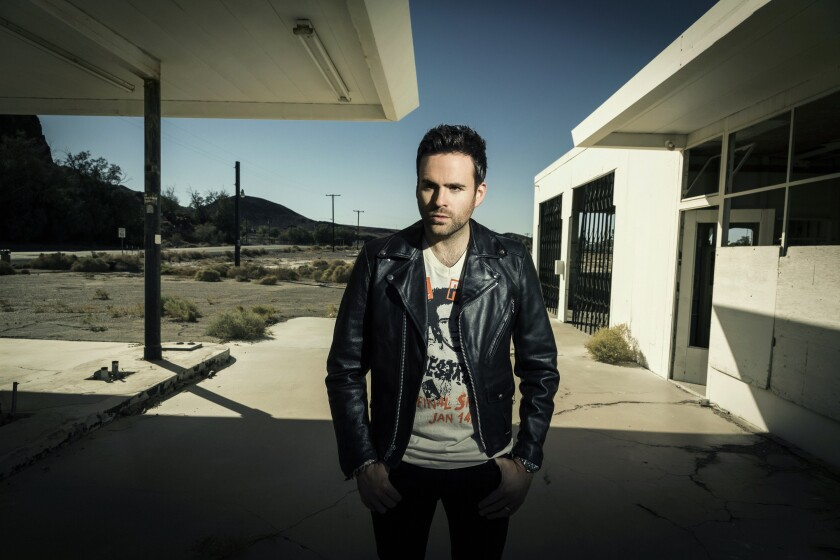 A photo of Gareth Emery