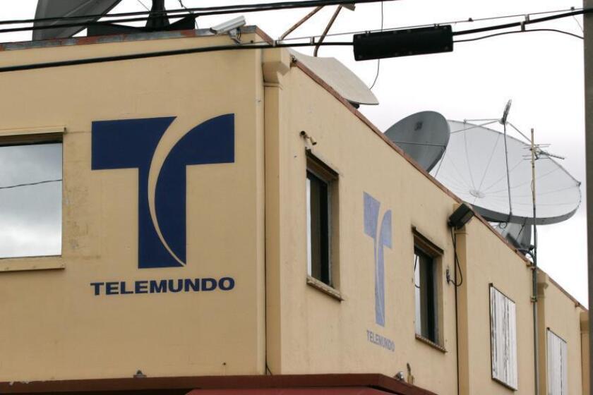 Fachada de la cadena de telivisión hispana Telemundo, el jueves 21 de diciembre, en Miami, Florida, EEUU. EFE/John Riley/Archivo