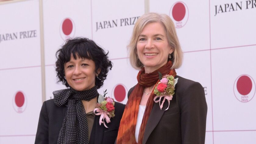 Emmanuelle Charpentier and Jennifer Doudna won the 2017 Japan Prize, among others, for their inventi