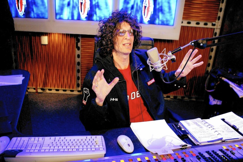 """Howard Stern, seen here in 2006, has """"come out of the closet"""" as a massive fan of the teen franchise """"The Kissing Booth."""""""