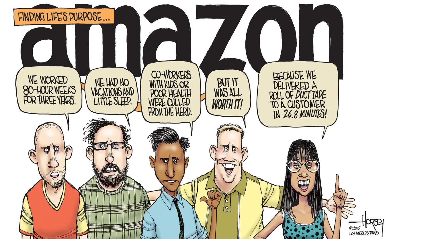 Amazon Souls 2013 Full amazon's brutal workplace is an indicator of an inhumane