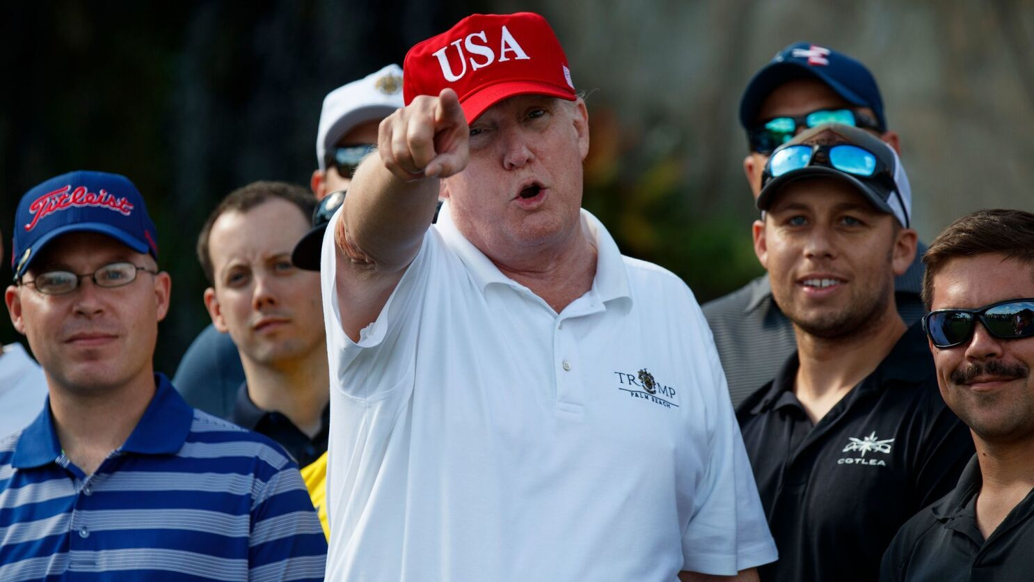 Lpga S Suzann Pettersen Says Her Words About Trump Cheating At Golf Were Taken Out Of Context Los Angeles Times