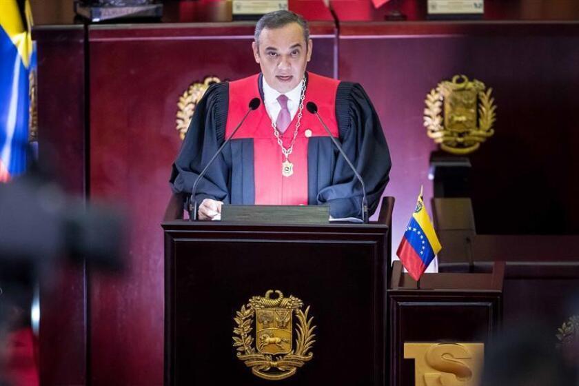 """La Secretaría General de la Organización de los Estados Americanos (OEA) llamó hoy a los Gobiernos del continente a desconocer todo acto del """"ilegítimo Tribunal Supremo de Justicia"""" de Venezuela, y en particular a desestimar, las solicitudes de extradición que ha llevado a cabo. EFE/ARCHIVO"""