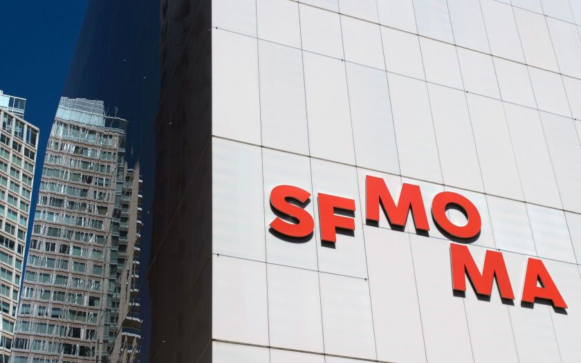 A view of the newly revamped SFMOMA, designed by the Norwegian firm Snohetta.
