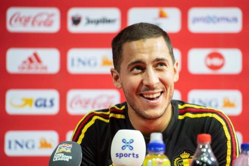 Eden Hazard, jugador del Chelsea. EFE/Archivo