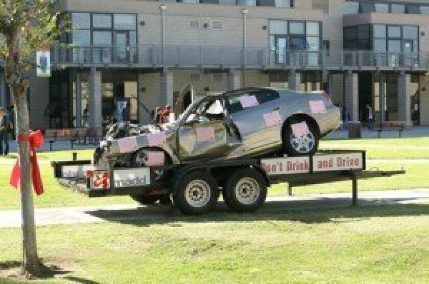 Don't Drink and Drive display. Photo/Jon Clark