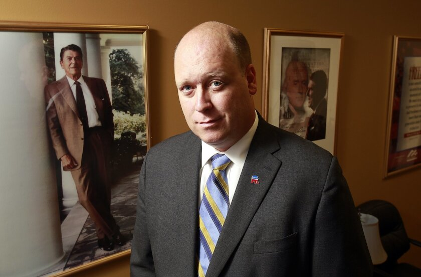 San Diego County Republican Party Chairman Tony Krvaric