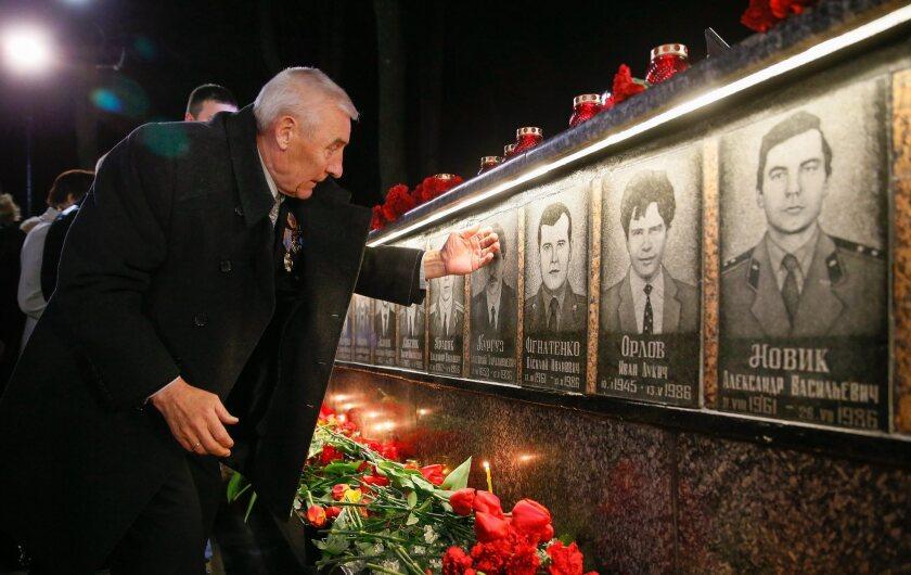 Ukrainians mark the 30th anniversary of Chernobyl