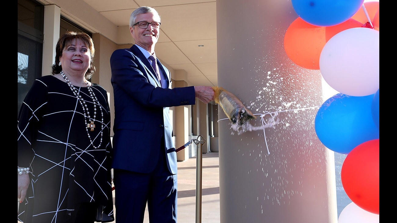 Photo Gallery: GCC officially opens new Sierra Vista 3-story building