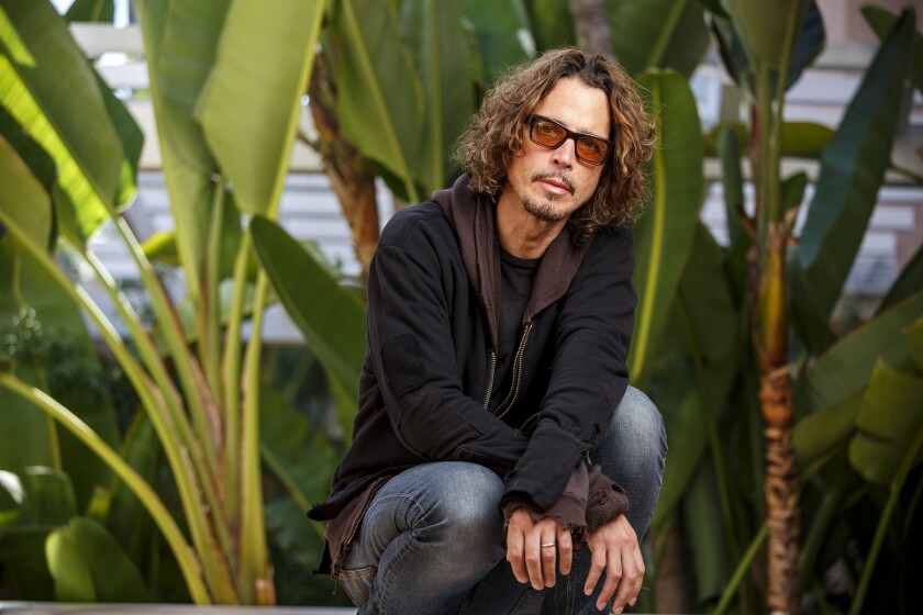 Chris Cornell, photographed in Beverly Hills in 2015, is being memorialized with a scholarship bearing his name at the UCLA School of Law.