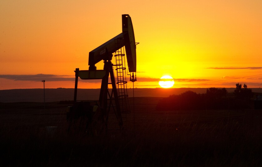 Oil prices briefly passed $50 a barrel on Thursday.