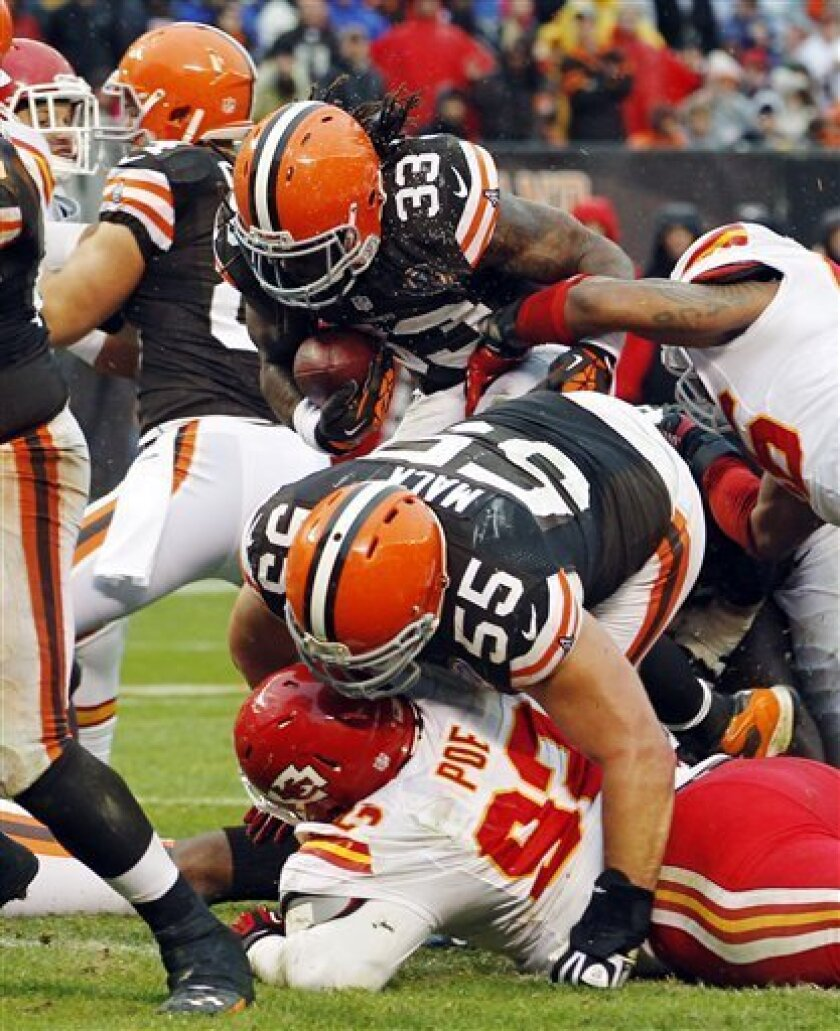 Chiefs Get Back To Normal With Loss To Browns The San Diego Union Tribune