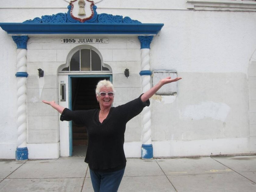 Bonnie Wright, who has been presenting new music concerts since 1995 in various locations, outside Bread & Salt, her series' new home.
