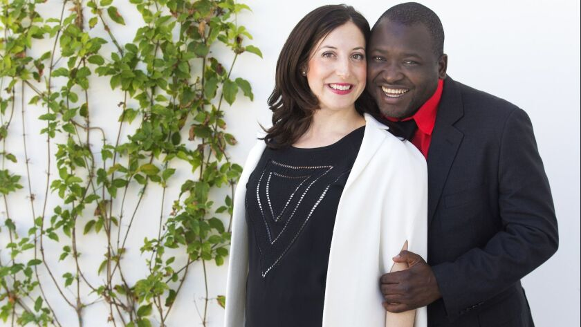 Jessica Posner Odede and Kennedy Odede run Shining Hope for Communities (SHOFCO), a Kenyan nonprofit organization that recently received the Conrad N. Hilton Humanitarian Prize.