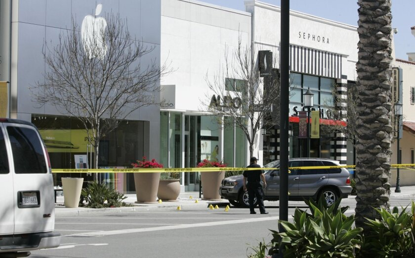 One man was killed and two others arrested after a break-in before 7 a.m. Monday at the Apple Store at the Otay Ranch Town Center. A security guard for the Apple Store became involved in a gun battle with the thieves, who were armed, Chula Vista police said.