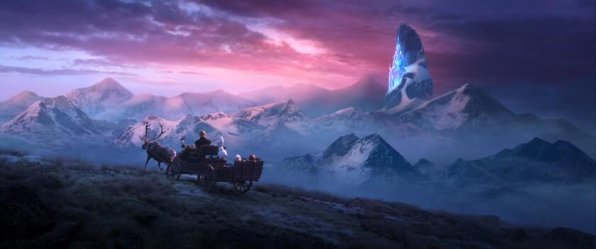 """""""Frozen 2"""" lidia con muchos temas maduros, tocando todo, desde el dolor y la depresión casi paralizante hasta los desastres ambientales provocados por el hombre."""
