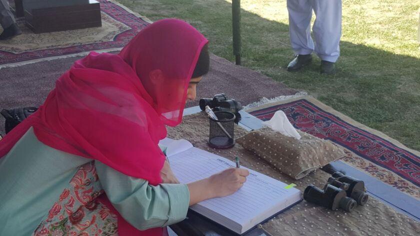 Malala Yousafzai returns to country, Swat, Pakistan - 31 Mar 2018
