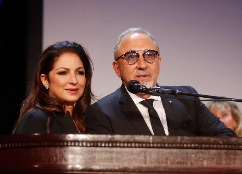 Emilio Estefan y Gloria Estefan. (Photo by Thos Robinson/Getty Images for The Buoniconti Fund)