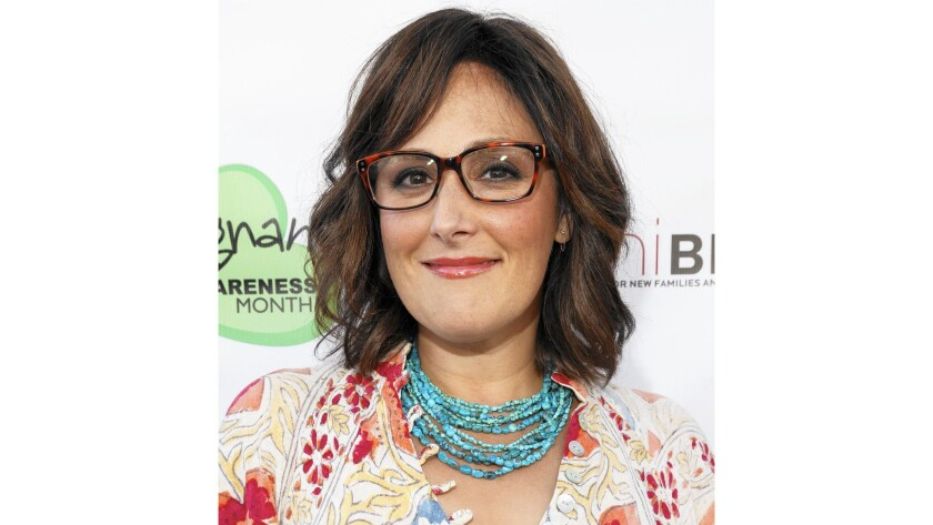 """Ricki Lake, seen at the premiere of """"Breastmilk"""" last year in Los Angeles, produces documentaries about women's health issues."""