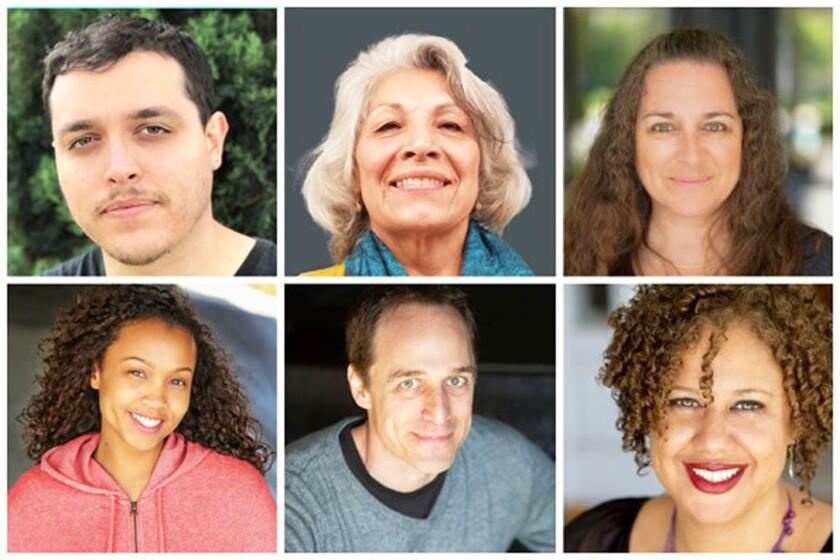 Top row: Robert Malave, Sylvia Enrique, D. Candis Paule. Bottom row: Arielle Siler, Gary Kramer, Director Jacole Kitchen.
