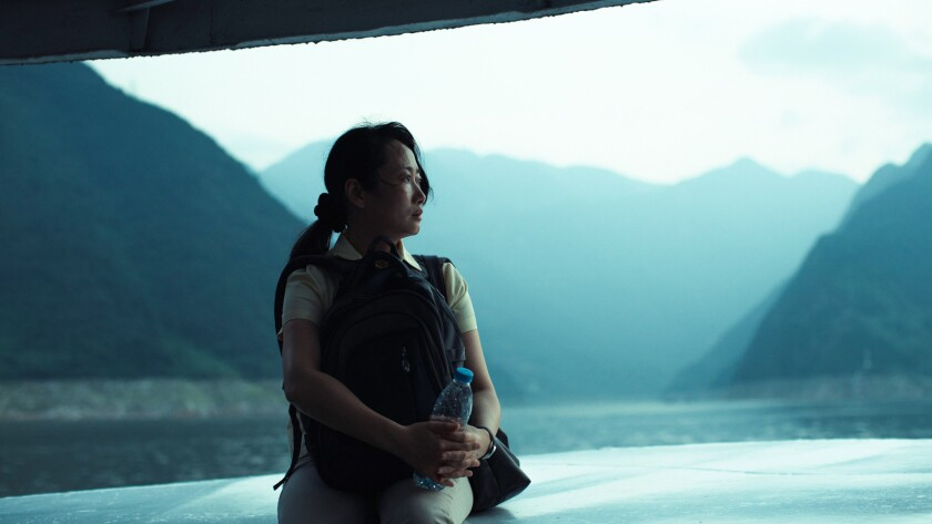 "Zhao Tao in the film ""Ash is the Purest White."""