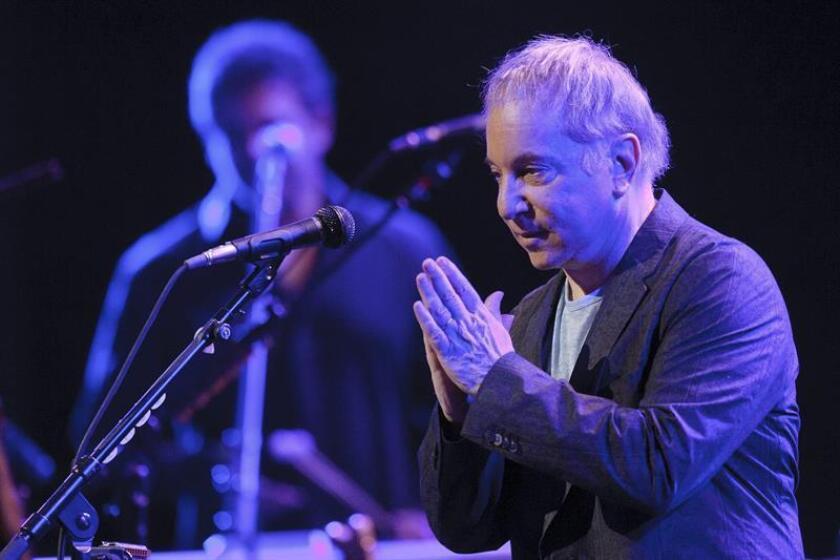 Imagen de archivo del pasado 14 de julio del 2011 que muestra al músico estadounidense, Paul Simon. EFE/Archivo