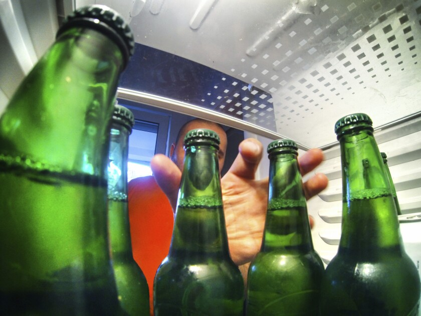 The closing of bars, restaurants and other workplaces last year made alcoholic drinks at home a greater temptation.