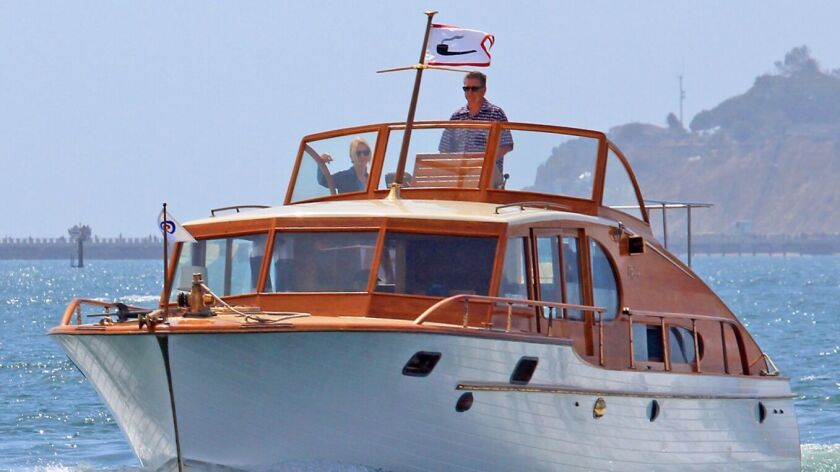 Old yacht reunited with its former family returns to Newport's