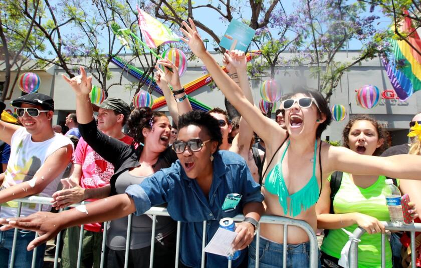 2012 L.A. Pride parade