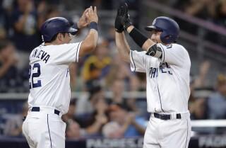 Rocky Gale, Christian Villanueva hit first big league homers