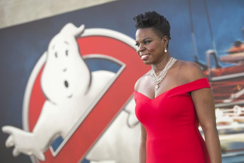 """""""Ghostbusters"""" star Leslie Jones"""