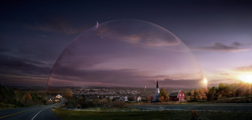 """Under the Dome,"" a series that launches June 24 on CBS, is based on Stephen King's bestselling novel about a small town that is suddenly and inexplicably sealed off from the rest of the world by a transparent dome."