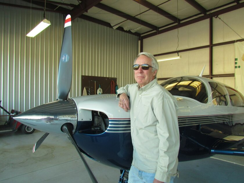 Pauma Valley member and pilot Gary Boone.