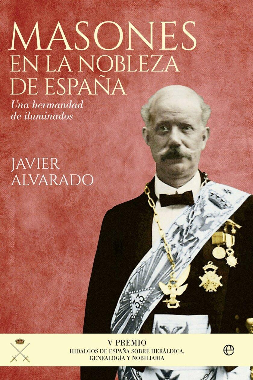 Portada del último libro de Javier Alvarado.