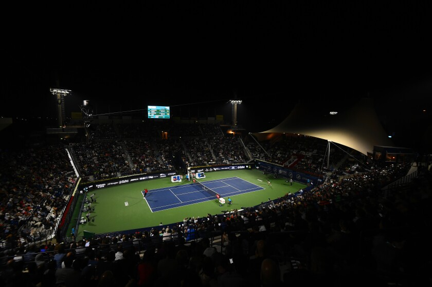 The WTA and ATP tours have canceled several tournaments because of coronavirus.