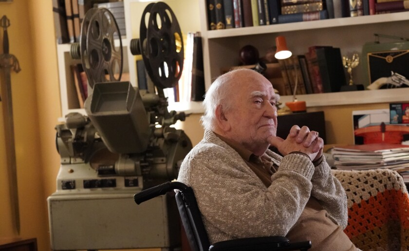 "Ed Asner guest stars in a new episode of the police drama ""Blue Bloods"" on CBS."