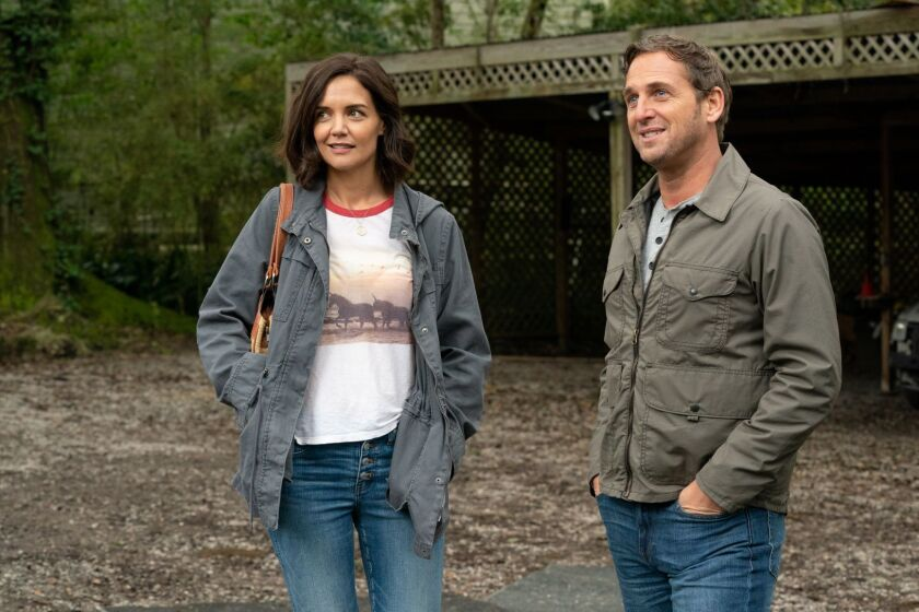 """Katie Holmes as Miranda and Josh Lucas as Bray in """"The Secret: Dare to Dream."""""""