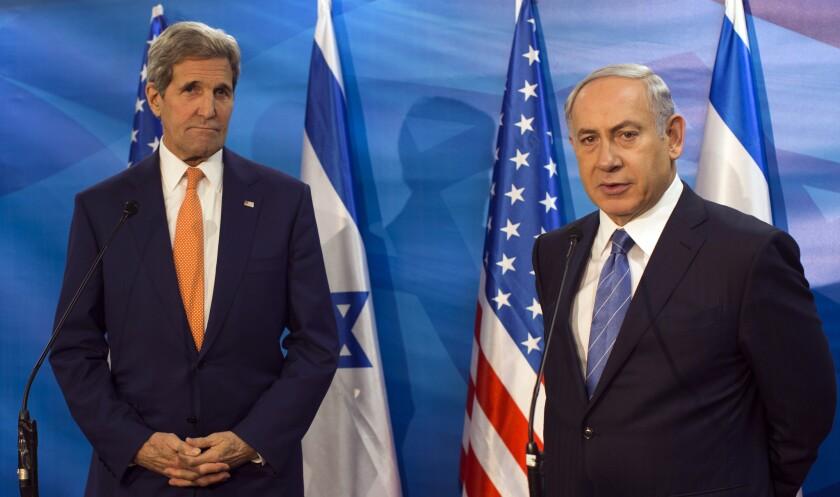 Benjamin Netanyahu, John Kerry