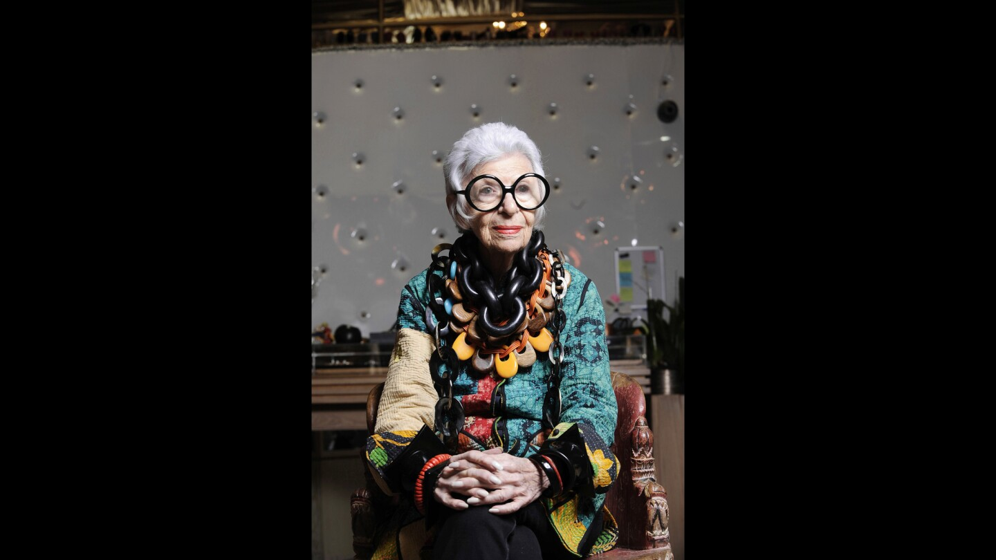 Long before the rise of street style blogs, Instagram and other social media, Iris Apfel was the mother of fashion individuality. For almost three-quarters of a century, her idiosyncratic style has inspired designers and store window displays, been the subject of museum shows and a coffee table book.