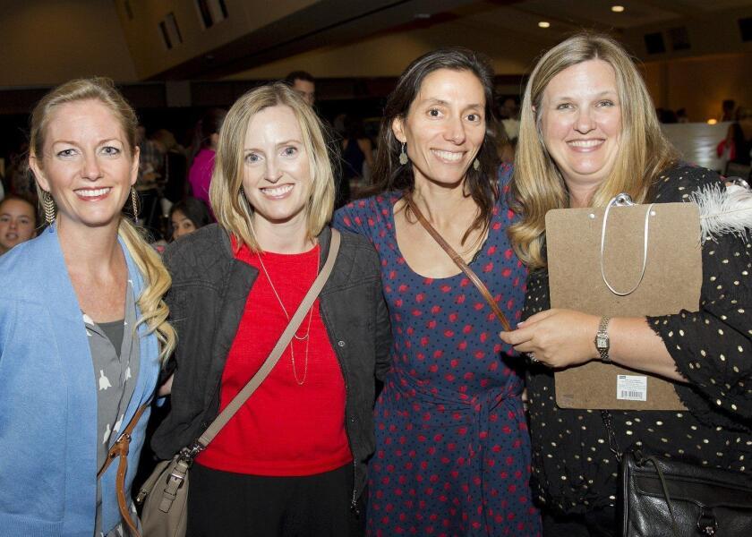Kirsten Limmer, Amy Kakimoto, Raha Shaw, Kerily McEvoy (event chair)