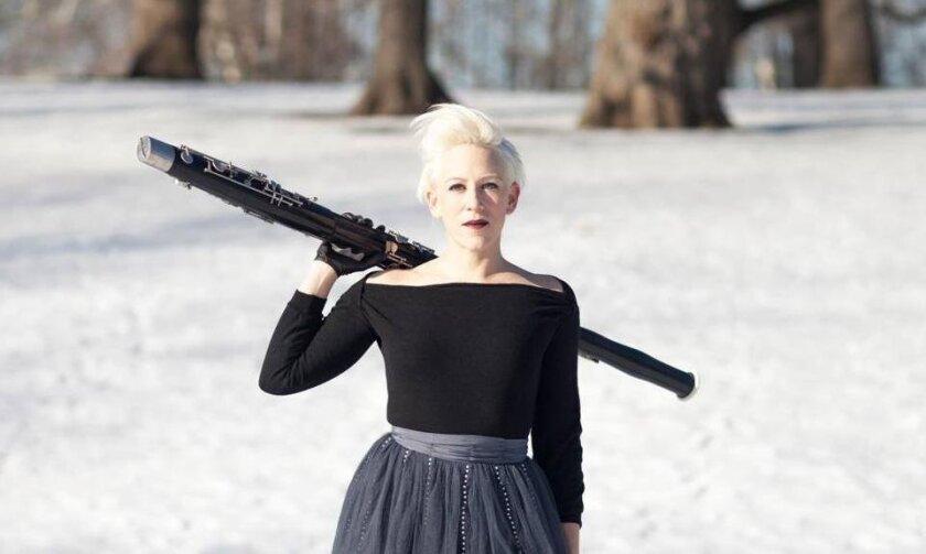 ICE bassoonist Rebekah Heller
