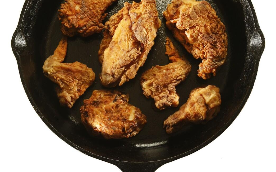 Pan-fried chicken
