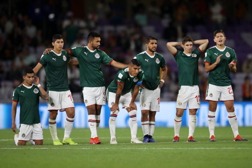Los jugadores de las Chivas, reflejo del fiasco en el Mundial de Clubes.
