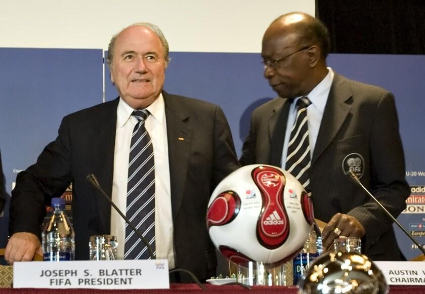 Sepp Blatter, Jack Warner