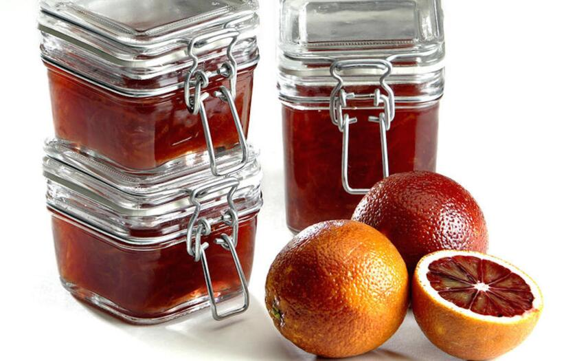 Blood oranges are gorgeous -- freshly picked, made into pretty marmalade, or just in bowls on your table.