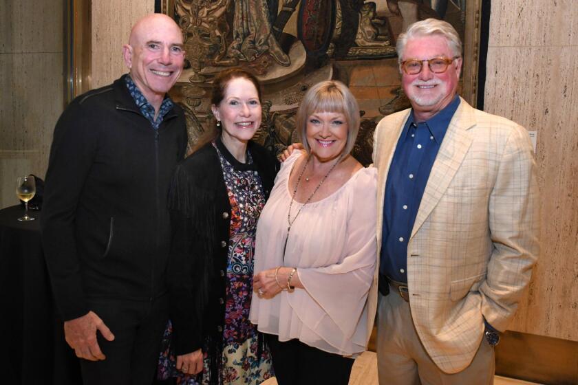 Patrons of the Prado's 2018 'Masquerade in the Park' benefactor reception