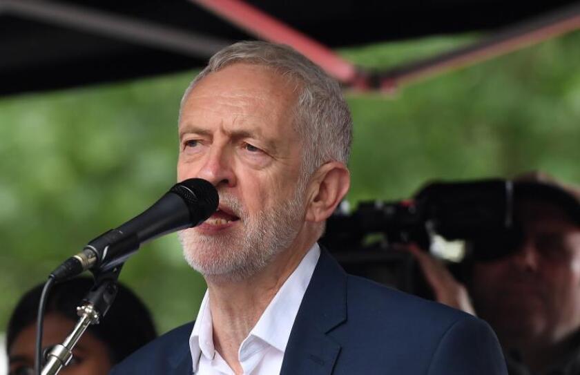 El líder del Partido Laborista, Jeremy Corbyn. EFE/ Andy Rain/Archivo