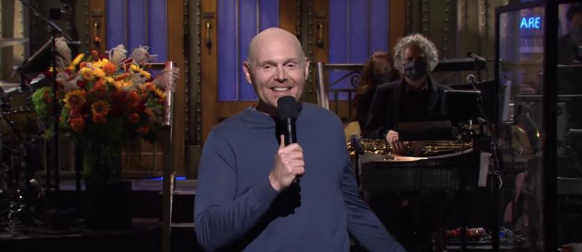 "Bill Burr hosting ""Saturday Night Live"" on Saturday."