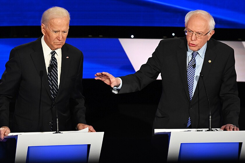 Joe Biden and Bernie Sanders to debate one-on-one