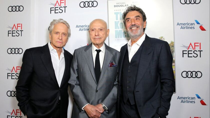 """Los Angeles Premiere of """"The Kominsky Method"""" at AFI Fest at TCL Chinese Theater"""